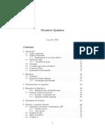 Mecânica Quântica - Segunda Quantização