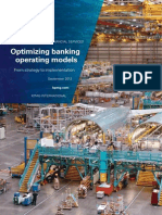 Optimizing Banking Operating Models