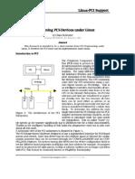 (PCI) Programming PCI Under Linux