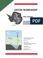 Lake Vostok Report