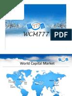 WCM777 English Presentation REVISED1