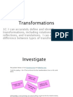 transformations updated