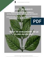 Guia Evaluacion Flora