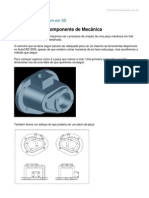 Modeling a Mechanical Part Using AutoCAD