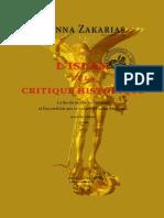 Hanna Zacharias - L'Islam Et La Critique Historique