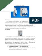 Miniature Circuit Breaker1