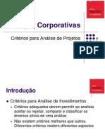 Analise e Viabilidade de Projetos - EPN