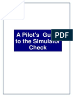 The Simulator Check Revision 3