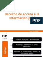 Presentaci n Taller Acceso Informacion VERSION ONG 2