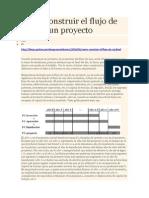 Cómo construir el flujo de caja de un proyecto