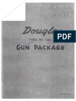 Douglas DGP-1 Twin .50 Cal. Gun Package