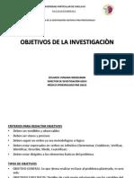 Clase 2- Los Objetivos