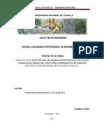 Universidad Nacional de Trujillo - Proyecto de Tesis (Final) de Ingenieria Mecanica