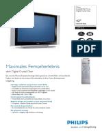 Beschreibung 42 Zoll Philips Breitbild Flat TV 42pf5331_10
