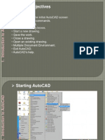 AutoCAD Tutorial Chapter 1