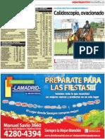 Resultados del sábado en San Isidro IV