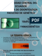 GENETICA TERAPIA GENETICA