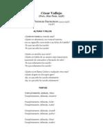 Poemas Humanos - Vallejo