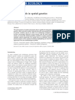Statisics for Spatial Genetics