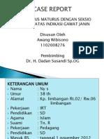Case Report - Peb Gawat Janin