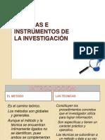 Las Tecnicas de Investigacion Cientica SANDRA MONROY DIAZ.