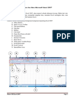 Menu Dan Ikon Microsoft Excel 2007