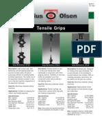 TD1002 Tensile Grips