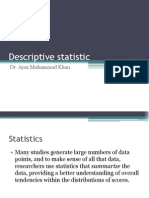 Descriptive Statistic