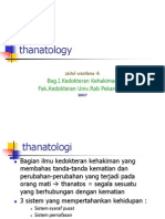 Thanatology