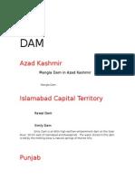Dam in Pakistan,cj,c,