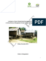 Looking to a Future Climate-Smart Development in Bangladesh: A Critical Review of Bangladesh Climate Change Strategy and Action Plan-DRAFT