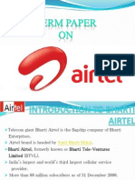30069090 Bharati Airtel Marketing Research Paper Ppt