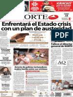 Periódico Norte de Ciudad Juarez 15 de Diciembre de 2013