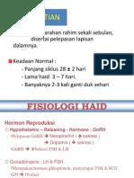 Fisologi Haid
