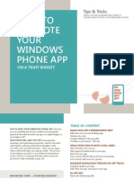 Promote Windows Phone App
