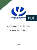 Codigo de Etica Profesional Del Psicologo