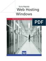 Guia Rapida Web Hosting Windows
