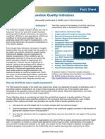 AHRQ Prevention Quality Indicators