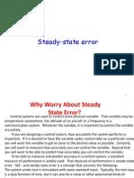Steady State Error1 1