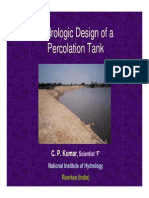 percolation- tank design