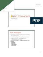 16. Static Code Analysis