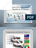 13)Practices of Compensation and Benefits in 5