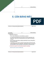 C.05 Can bang may
