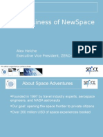 The Business of New Space