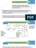 Foam Sensing and Control (Instrument Control)