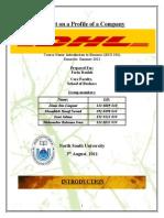 DHL BUS101 Report NSU