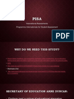 pisa international standardized tests