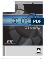 2009 RTP Product Design & Prototyping Co-Op Directory