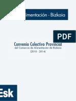 CONVENIO ALIMENTACI+ôN BIZKAIA