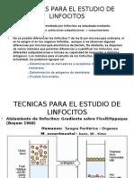 Tecnicas Para El Estudio de Linfocitos